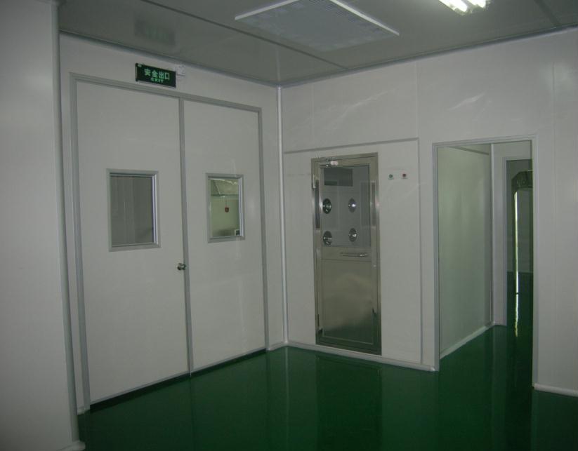 千级无尘室复合材料维修洁净室投入使用