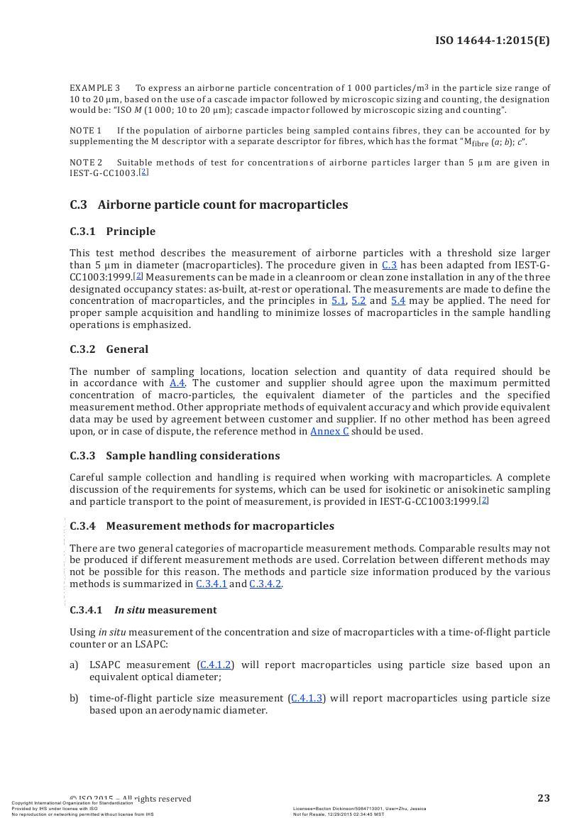 ISO14644-1 (2015英文版全文)
